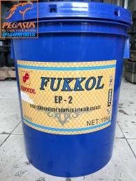 MỠ BÒ XANH CHỊU NHIỆT FUKKOL EP-2 LOẠI 5KG - 15KG